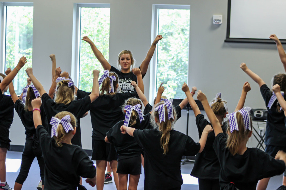 Cheerleading/Pom Clinic at ADP Sports