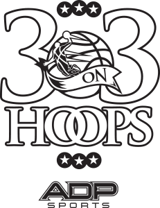 3-On-3 Hoops Logo