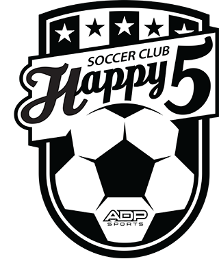 Happy 5 Soccer Club Logo