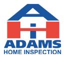 Adams Home Inspection Logo